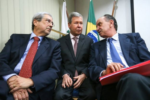 Antônio Imbassahy, Arthur Virgílio e Aloysio Nunes