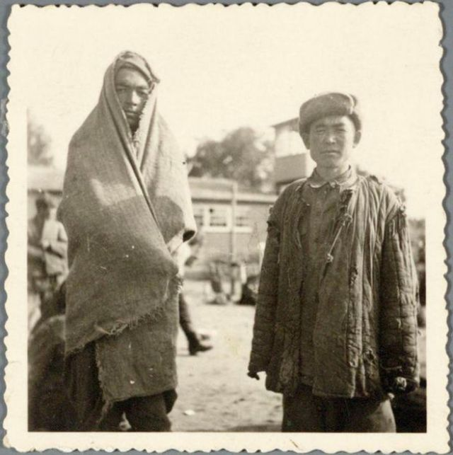 Prisoners del campo de concentración Amersfoort
