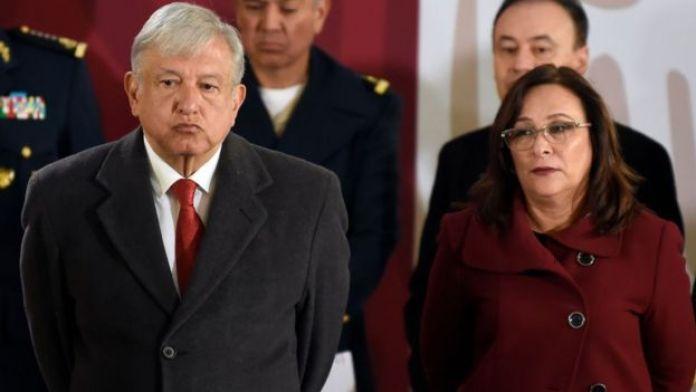 López Obrador y Rocío Nahle