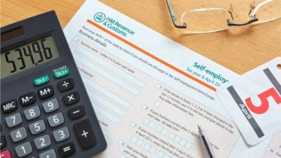calculator and HMRC paper