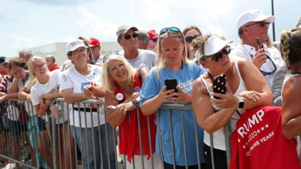 Voters in Wilmington, North Carolina