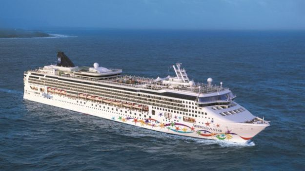 Barco de Norwegian Cruise Line.