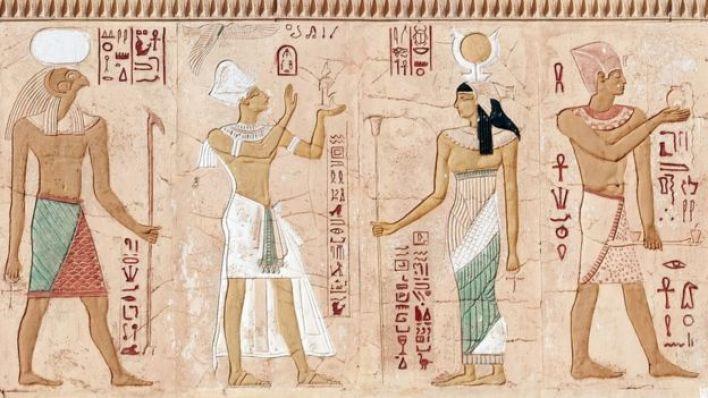 نقش فرعوني، للغة الهيروغليفية