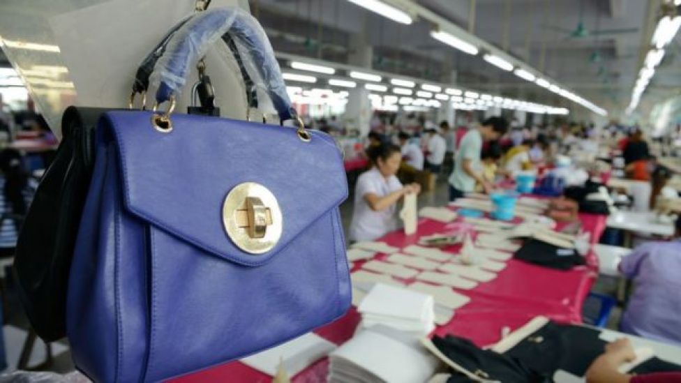 Bags factory in Shenzhen (October 14, 2016)