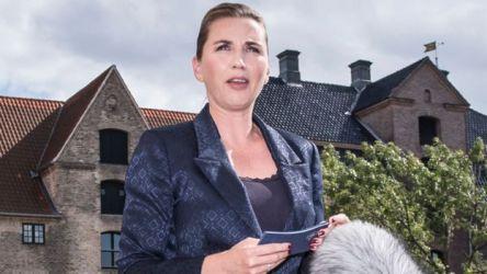Primera ministra danesa, Mette Frederiksen.