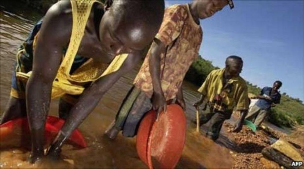 Wachimbaji mgodi DRC