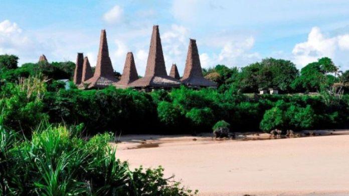 Sumba island. Ratengaaro village.