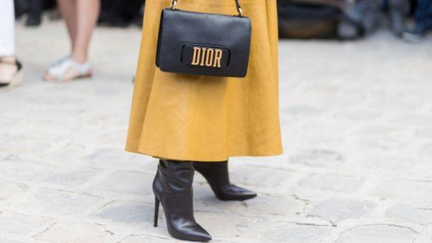 Bolso Dior de Celine Dion
