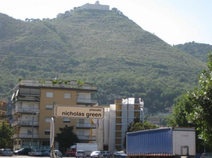 Nicholas Green square in Cassino Italy