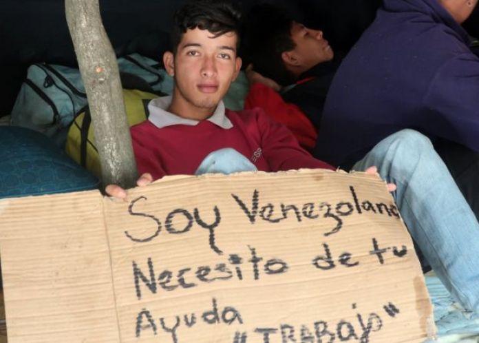 Venezolano en Quito