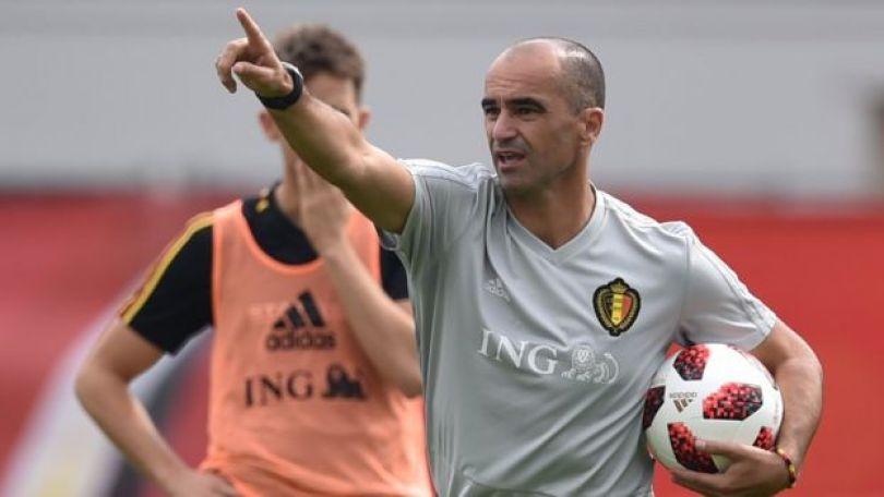 O técnico espanhol Roberto Martinez, comandante da Bélgica
