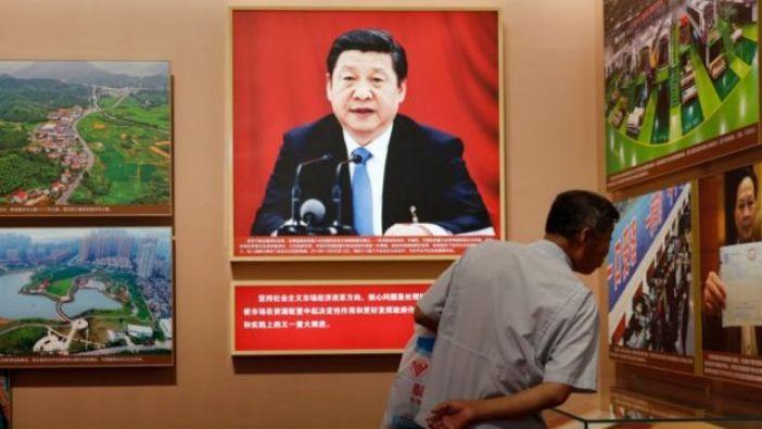 Retrato de Xi Jinping.