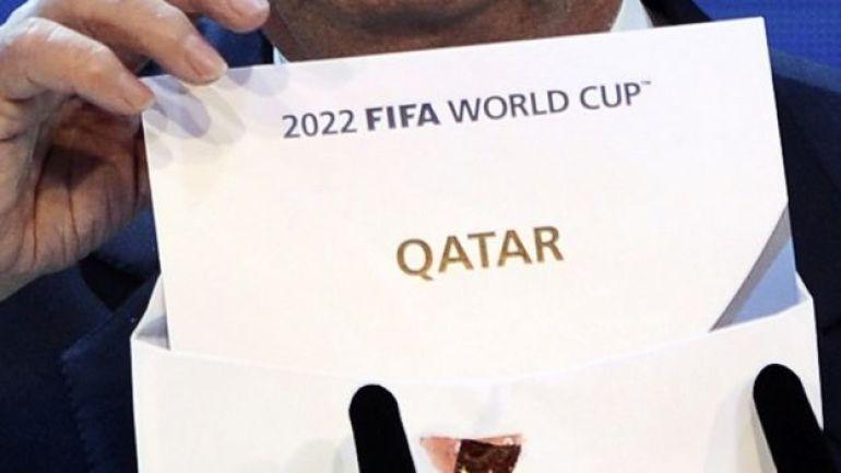 El sobre que reveló a Qatar como la sede de la Copa Mundial 2022