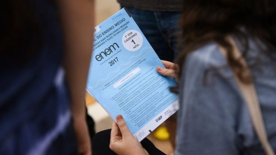 Primeiro dia do Enem (Exame Nacional do Ensino Médio) em 2017