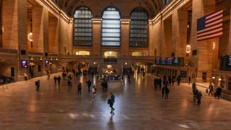 محطة غراند سنترال في نيويورك