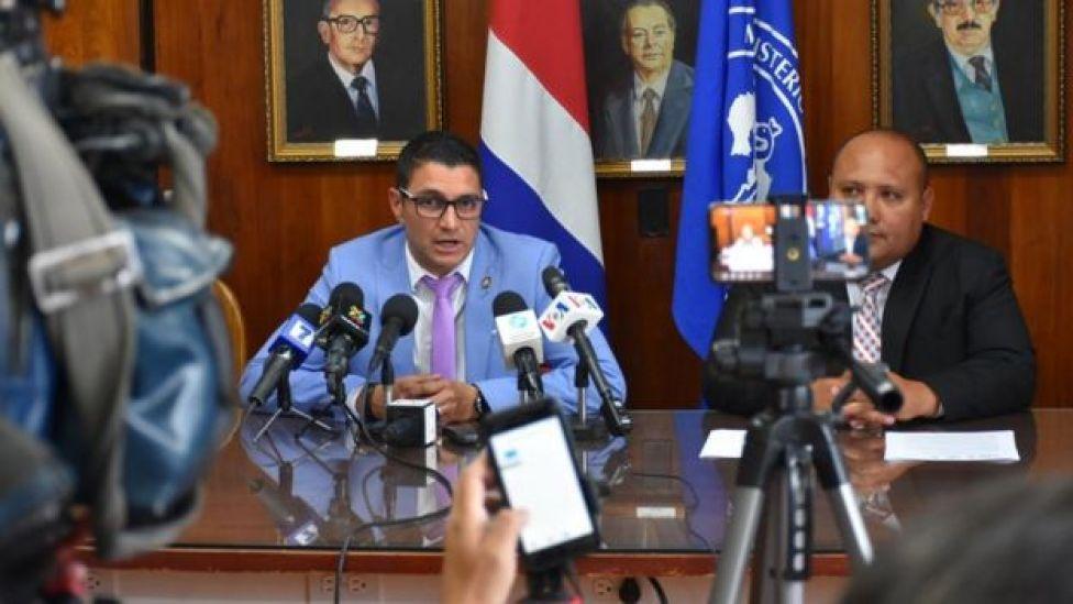 Ministro de Salud de Costa Rica