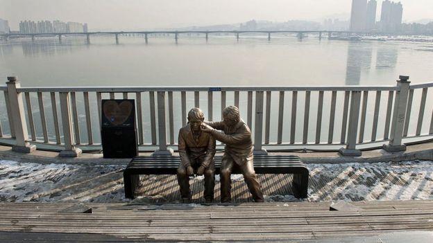 Puente de la curación en Corea del Sur