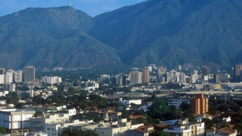 Caracas em 1980