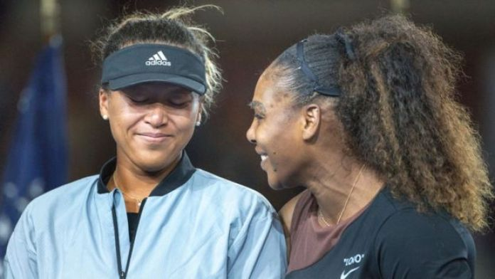 Naomi Osaka et Serena Williams