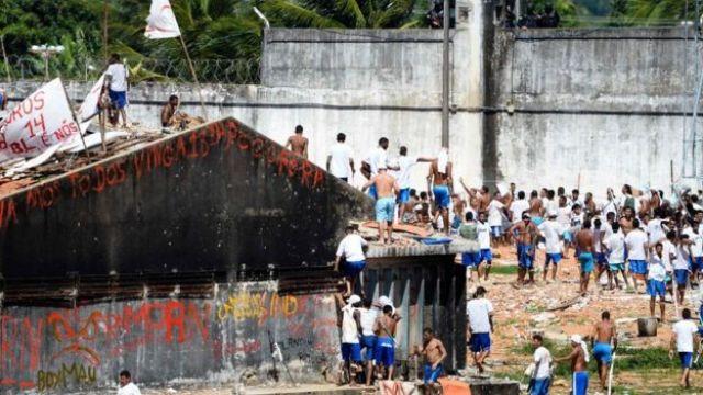 Rebelião no presídio de Alcaçuz, no Rio Grande do Norte