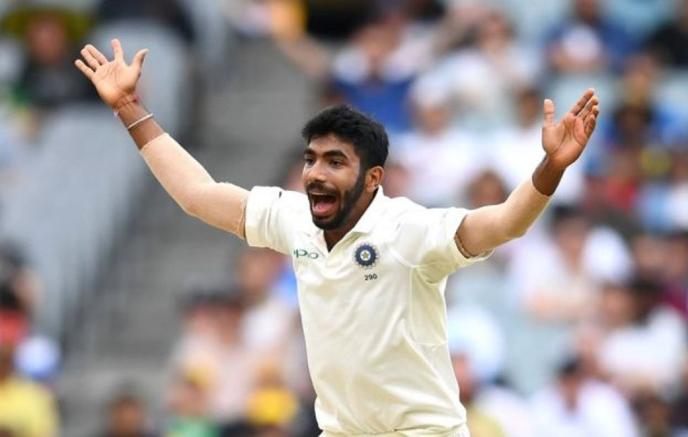 Jasprit Bumrah of India appeals for the wicket of Shaun Marsh of Australia during day four of the Third Test match in the series between Australia and India at Melbourne Cricket Ground on December 29, 2018 in Melbourne, Australia.