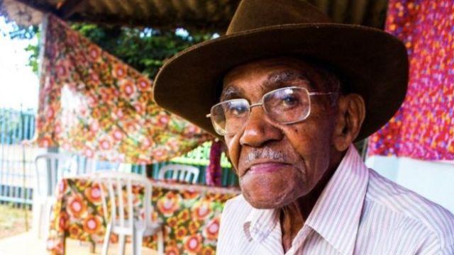 Mauro Melo, morador do Quilombo Mesquita