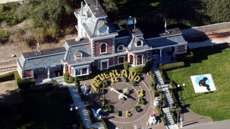 Neverland, la casa de Michael Jackson.