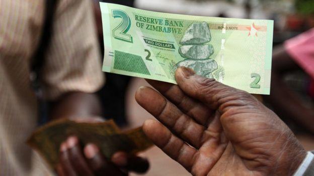 Mwaka 2016, Zimbabwe ilianza kutumia noti za thamana ambazo huwa na thamani sawa na dola