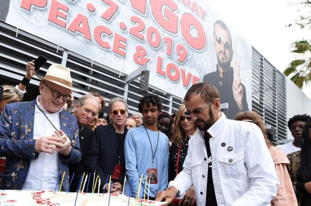 Ringo Starr Peace and Love party