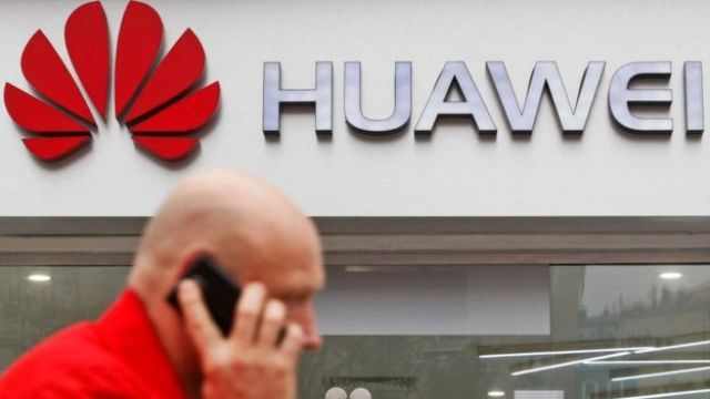 Logo da Huawei