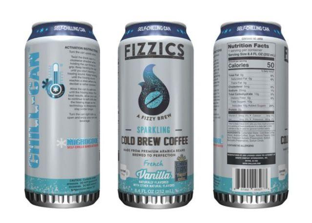 Latas de café gelrado