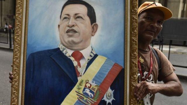 Retrato de Chávez