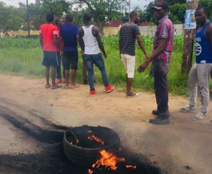 Zimbabwe protesters
