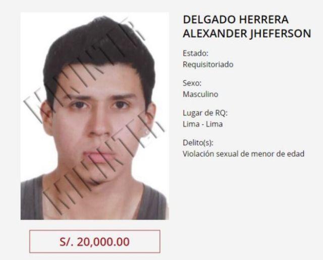 Delgado Herrera na lista dos mais procurados