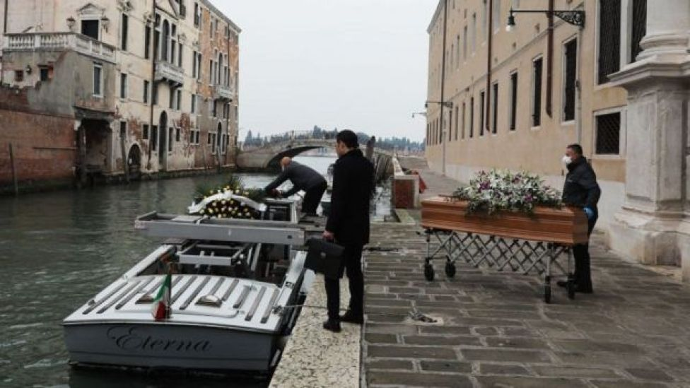 Italy's funeral