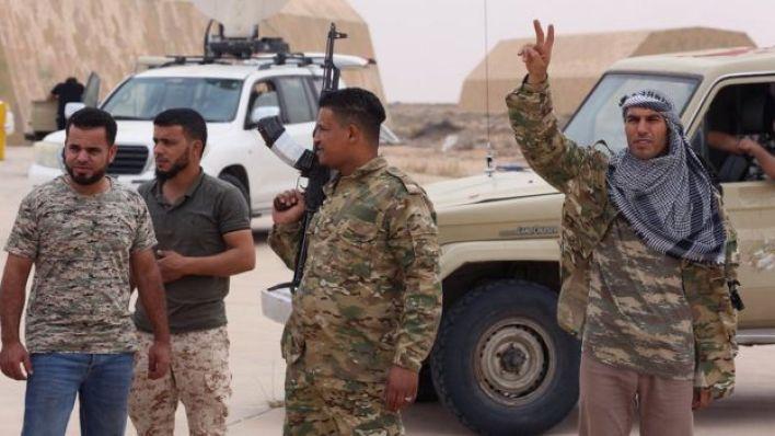 قوات حكومة الوفاق