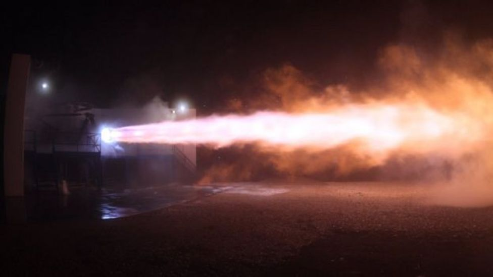 SpaceX rocket engine