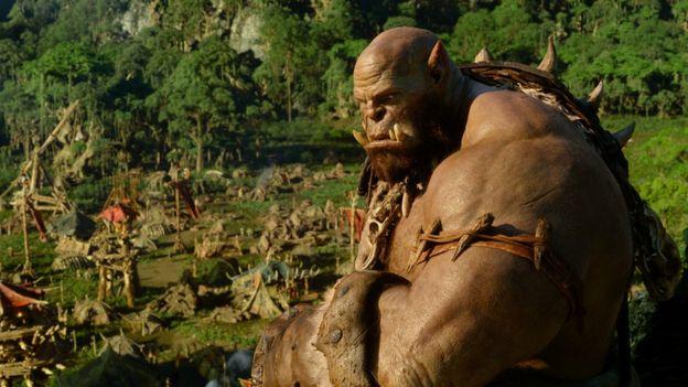 Press image of Warcraft movie