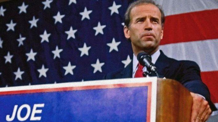 بايدن في انتخابات 1987
