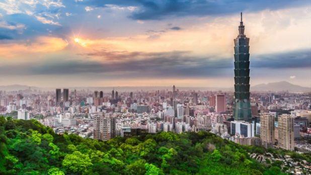 مدينة تايبيه عاصمة تايوان