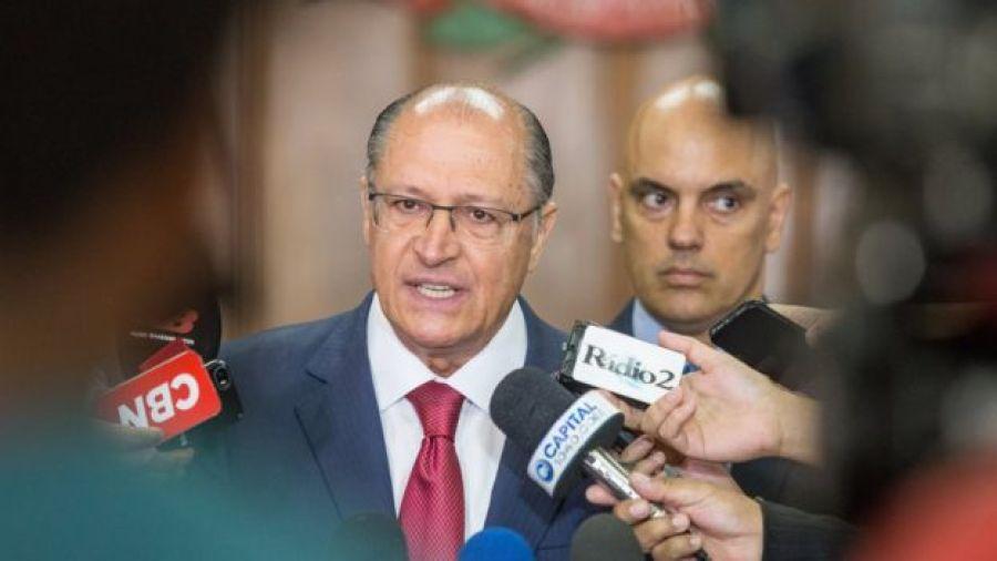 Geraldo Alckmin e Alexandre de Moraes