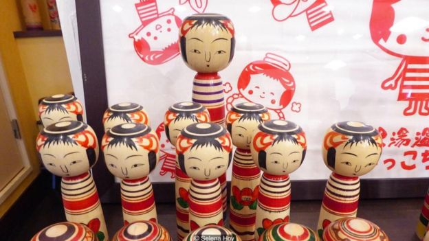 It is said that Nintendo's Mii avatars are based off the kokeshi dolls
