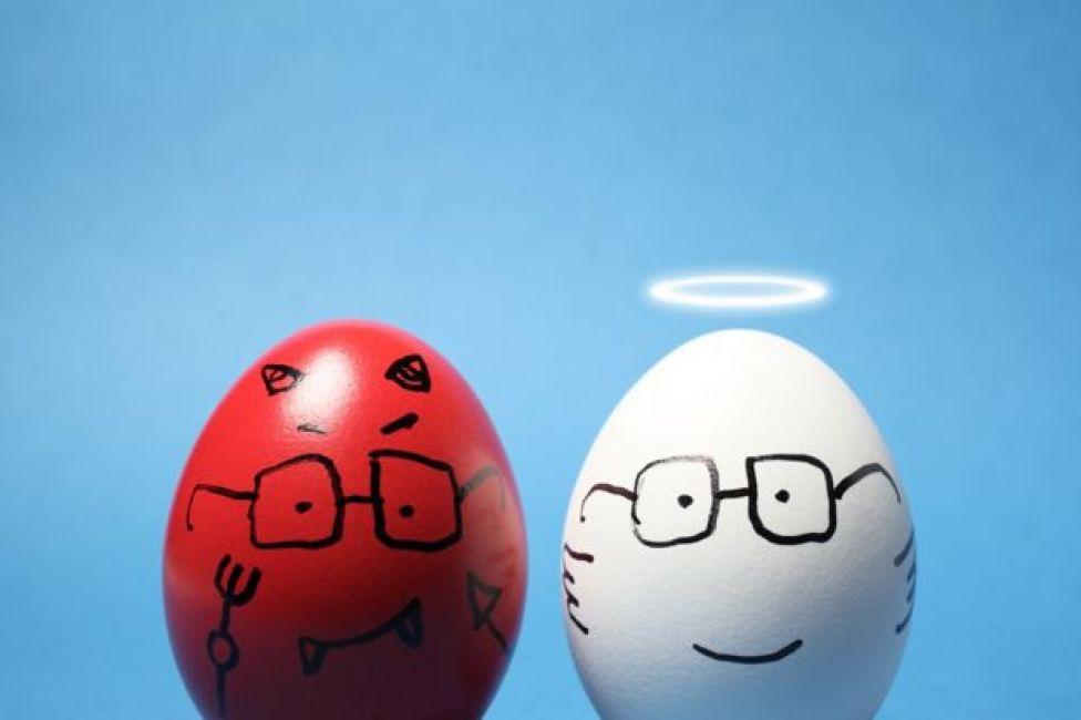 kötü ve iyi yumurtalar