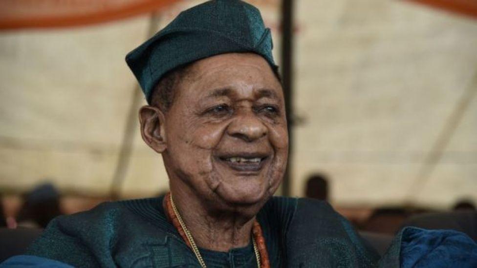 The Alaafin of Oyo