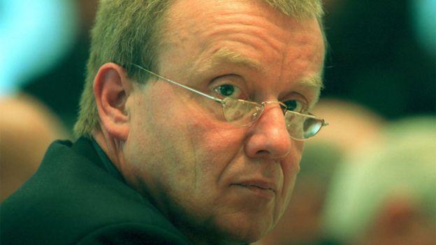 Ruprecht Polenz, principal negociador de Alemania
