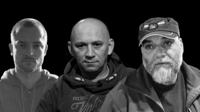 From L-R: Kirill Radchenko, Alexander Rastorguyev and Orkhan Dzhemal