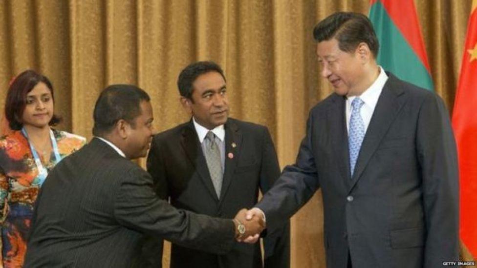 चीन मालदीव