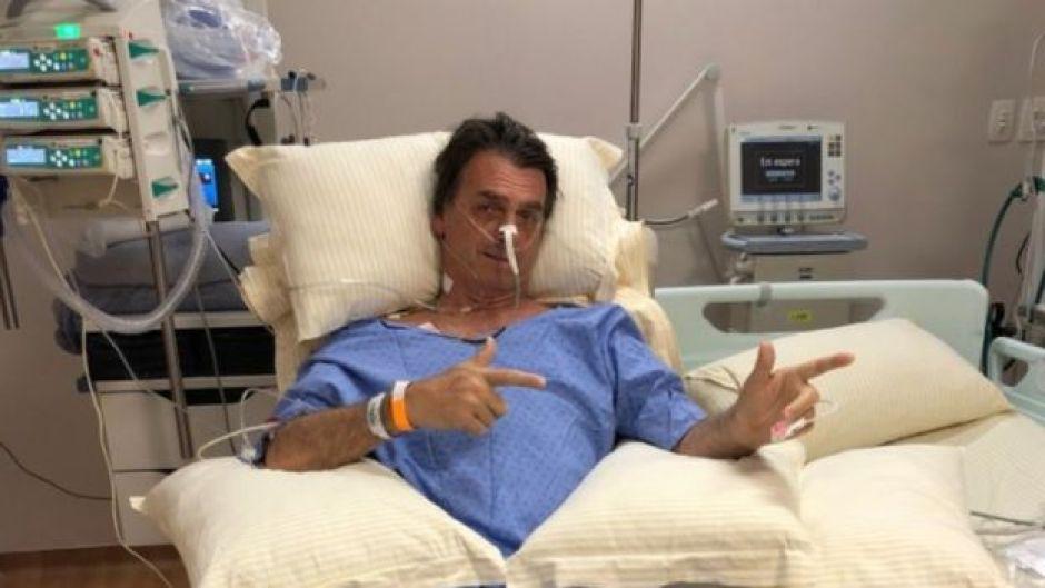 Bolsonaro no hospital