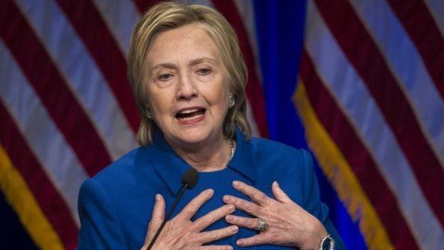 Hillary Clinton məğlubiyyətini noyabrın 8-i etiraf edib