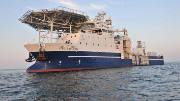 Embarcación del equipo de investigación